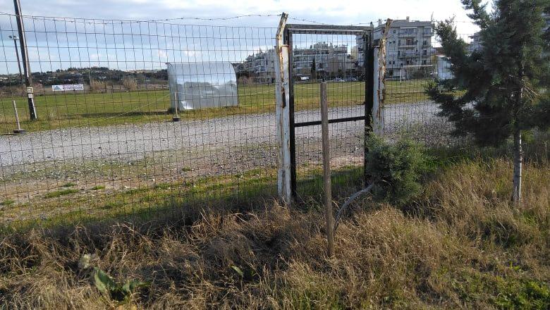 Θλίψη και οργή για την εγκατάλειψη των γηπέδων στην Ξενίου Διός (φωτογραφικά ντοκουμέντα)