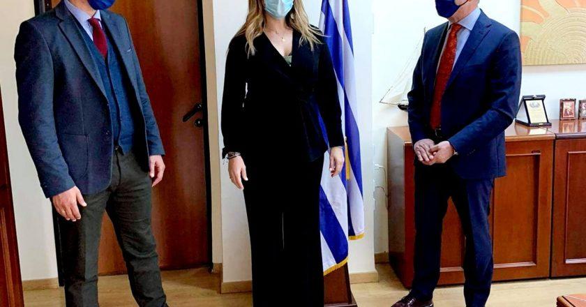 Αμέριστη συμπαράσταση από την Υφυπουργό Τουρισμού στο Δήμο Θερμαϊκού